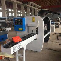 力源全自动圆木多片锯 原木锯片木工机械 细木工大型开方机器设备