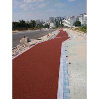 西宁誉臻彩色沥青路面铺装,彩色透水混凝土材料批发包工包料