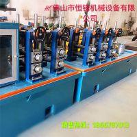 山东140高频焊管机组 直缝焊管机 50扩89焊管机模具配套