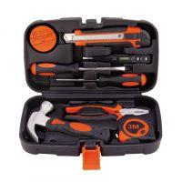 9件套家用组合 组套工具包 礼品工具包 五金工具箱科麦斯供货商