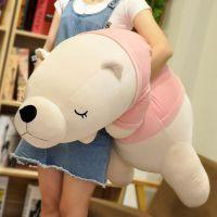 北极熊毛绒玩具送女友大号趴趴抱抱熊娃娃公仔可爱睡觉抱枕女孩生