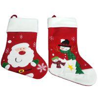 来图定制圣诞袜圣诞老人袜子礼物袋圣诞节装饰品跨境爆款圣诞节