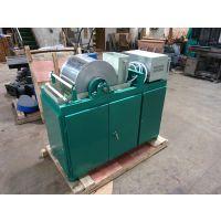 浩鑫CRSφ400*300实验室磁选机弱磁滚筒式选矿小型鼓式湿式水洗化验室分析设备