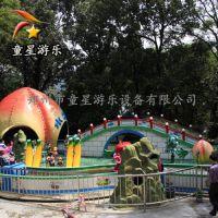 造型独特童星游乐户外新型游乐设备花果山漂流