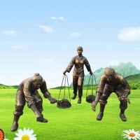 农耕人物雕塑设计_农耕人物雕塑哪家的比较好