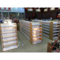 厂家定制批发 孔背板超市货架 单面加厚展示架 仓储精品货架