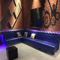 众美德家具餐厅欧式沙发卡座沙发双人ktv快餐店sofa