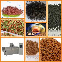 鱼饲料加工机械设备,水产膨化饲料生产线,鱼饲料膨化机设备