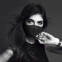 男女情侣款明星同款口罩 立体黑色PM2.5防尘口罩非一次性厂家批发
