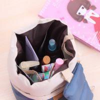 爱奇 旅行韩版可爱圆筒大容量防水化妆包女生便携整理分层洗漱包