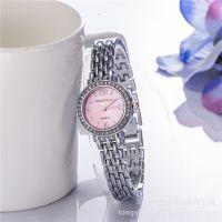 厂家直销 微商爆款 时尚钢带女士时装表 手表手链两件套 一件代发