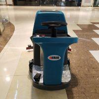工业车间驾驶式拖地机 车站物业保洁多功能洗地神器 商用洗地车