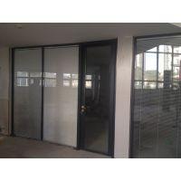 办公室铝合金玻璃隔断价格