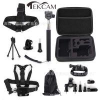 Hero摄像机10件套 运动相机配件 亚马逊ebay速卖通防水DV套装