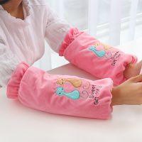 可爱韩版长款儿童袖套女办公秋冬套袖成人厨房家务清洁防污护袖