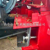 手扶拖拉機帶前置玉米收割機 一九牌單行玉米收割機 附帶粉碎一體機 廠家直銷