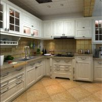 定制橱柜 整体厨房橱柜定做 厨柜门 厨房吊柜 不锈钢整体橱柜