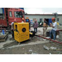 10月9日小型混凝土输送泵厂家合作华夏基业建筑崇明县城桥镇住宅项目