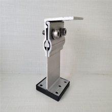 430铝镁锰板支座彩钢瓦支架铝合金T码钢构配件堵头夹具咬口钳