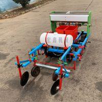 湖南四轮拖拉机悬挂式玉米地膜覆盖机 花生播种机 多功能菜籽播种覆膜机厂家