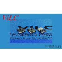 MICRO 10P焊线式公头-micro3.0插头-电脑移动硬盘连接线公座