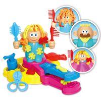 抖音同款 彩泥疯狂理发师店主3D橡皮泥工具模具套装儿童过家家玩
