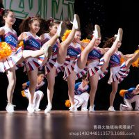 学生啦啦操服装竞技健美操服装艺术体操舞蹈表演服啦啦队比赛服装