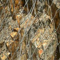 蜘蛛边坡防护网 边坡的防护网价格 山体防护钢丝绳网价格
