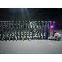 电动门 不锈钢伸缩门 折叠门 企业门 厂房门 小区门 自动门金属西安永乐门业