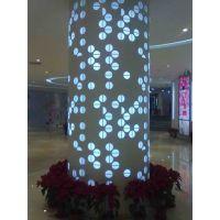 广告金属天花装饰高大上铝板雕刻铝板灯箱