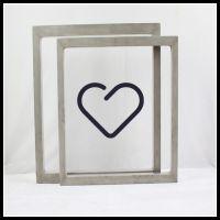 嘉美供应电子元器件丝印精密压铸框/铝框、曲面印刷框常熟厂家