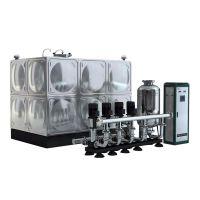 卓智箱式变频无负压自动增压 二次供水设备自动清洗不锈钢水箱 功能