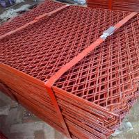 河北染漆工地用网钢笆片网建筑脚踏网厂家