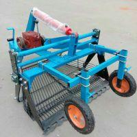 自产自销手扶车带链条式花生收获机 无破损土豆收获机厂家
