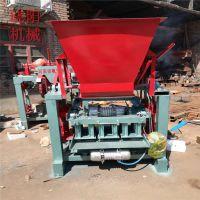 4-40实心水泥砖机 小型半自动水泥砖设备 多功能砌块成型机