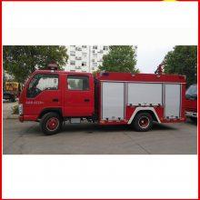 南宁庆铃3.5吨泡沫消防车五十铃双排座消防车性价比高