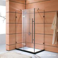 广东专业安装浴室玻璃隔断 卫生间钢化玻璃隔断 浴室玻璃隔断墙