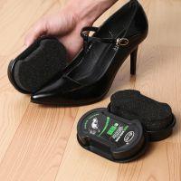 双面皮鞋刷鞋油刷即亮无色鞋油擦皮鞋海绵擦鞋工具厂家直销