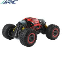 JJRC 1:16越野遥控车特技双面四驱高速攀爬大脚怪扭变车儿童玩具