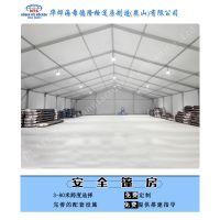华烨铝合金篷房四面PVC围布具有防雨防水防晒的功效