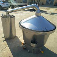 新型高粱小米自酿醇酒设备 304不锈钢白酒酿酒设备 家用商用