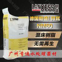 德国朗盛拜尔树脂 IONAC NM60 抛光级/电子级不可再生混合树脂