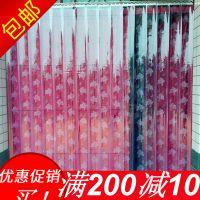 聚昌夏季PVC带孔软门帘塑料通风透气防蝇防蚊透明软玻璃门帘家用