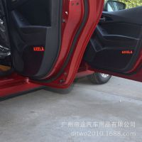 汽车内饰改色贴膜 适用于马自达昂克赛拉车门防踢贴改装车贴