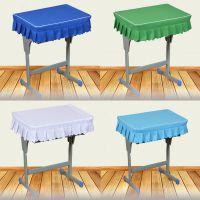 课桌布学校课桌布教室桌布一年级学桌桌套绿色环定课桌套保做
