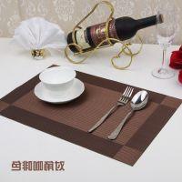 jsh耐用早餐环保少女餐桌PVC西餐厅吃饭隔热餐垫桌布烘焙碗盘欧式