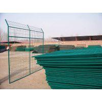 一诺供应:1.8*3米市政、园林隔离用带边框护栏——浸塑护栏网规格、型号