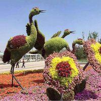 使用真假制作造型 仿真植物雕塑 童年的记忆主题雕塑