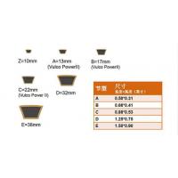 进口日本三星三角带MITSUBOSHI SPZ SPA SPB SPC保证正品