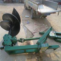 钻头直径500毫米的钻眼机/打坑机拖拉机带动力足